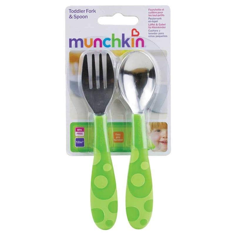 Набор детских приборов: ложка и вилка, Munchkin