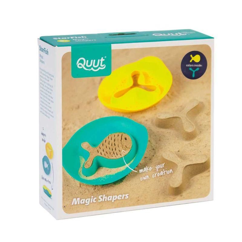 """Волшебные формочки для ванны и пляжа """"Star Fish"""", Quut"""