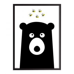 "Картина ""Медведь и пчелы"", Cosas"