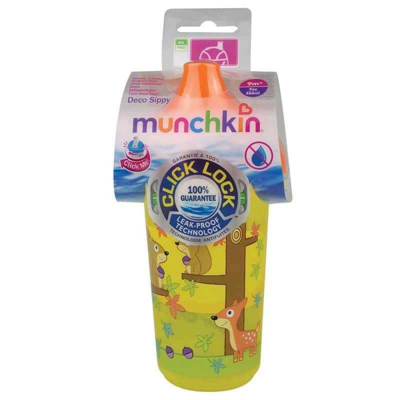 """Бутылочка непроливайка """"Deco Sippy"""" 266 мл, Munchkin"""