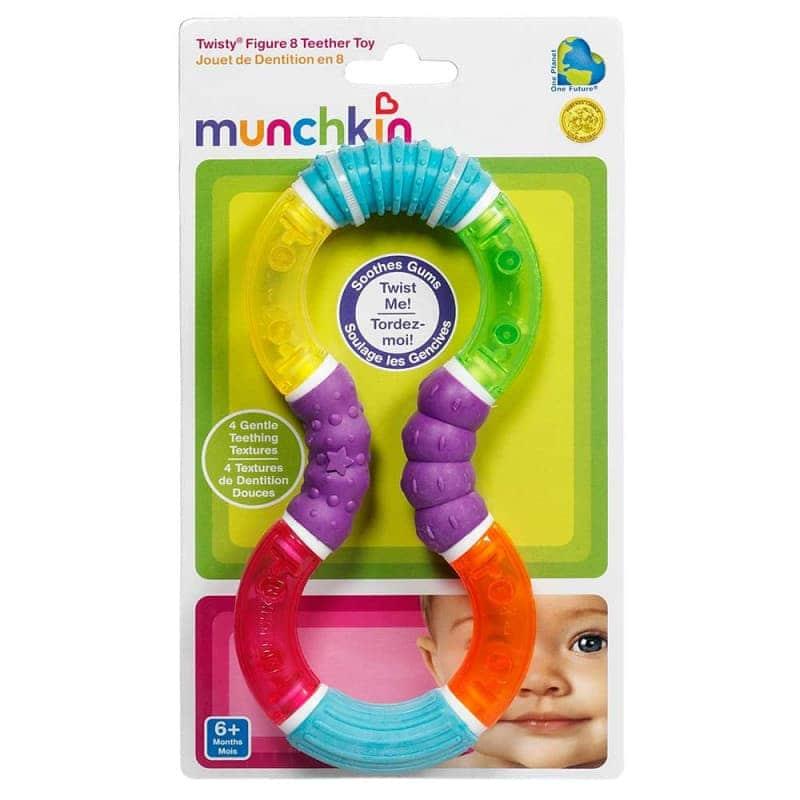 """Игрушка-прорезыватель """"Восьмерка"""" (Twisty Figure 8), Munchkin"""