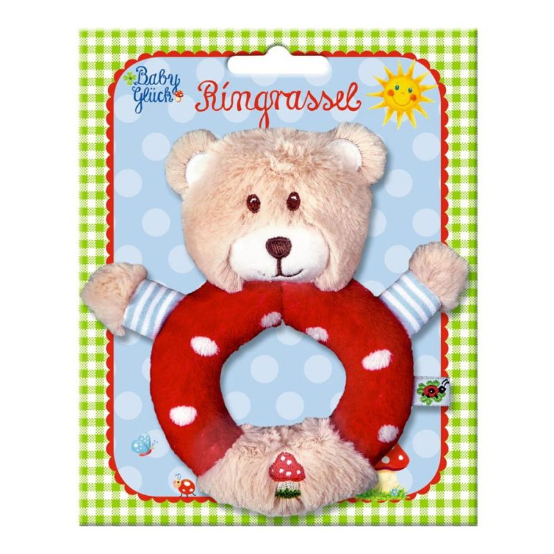 """Погремушка-кольцо """"Медвежонок"""", Die Spiegelburg"""