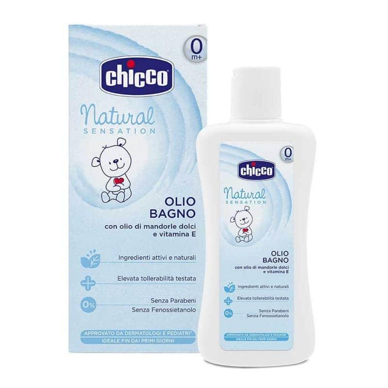 """Детское масло для купания """"Natural Sensation"""", 200 мл., Chicco"""