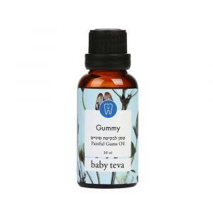 """Успокаивающее масло при прорезывании зубов у детей """"Gummy"""", Baby Teva"""