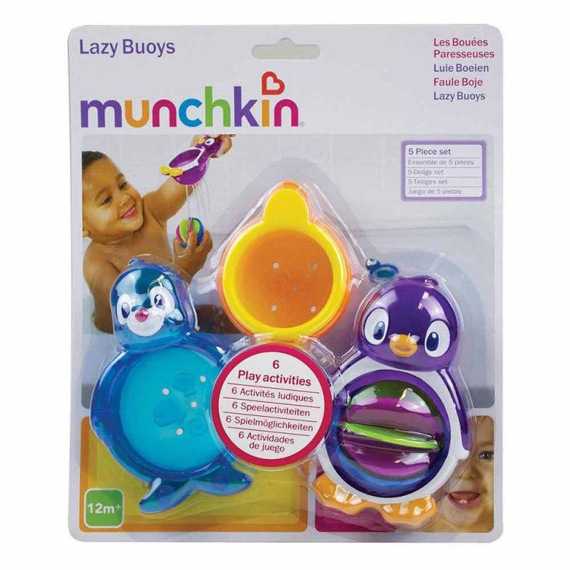 """Игрушечный набор для ванной """"Ленивые буйки"""", Munchkin"""