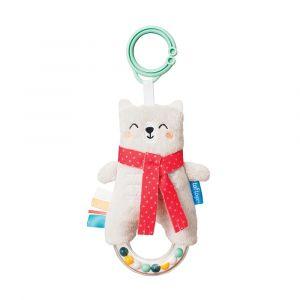 """Игрушка-подвеска """"Белый медвежонок"""", Taf Toys"""
