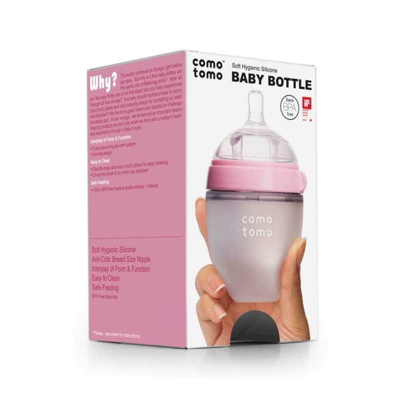 Антиколиковая бутылочка для кормления, Comotomo