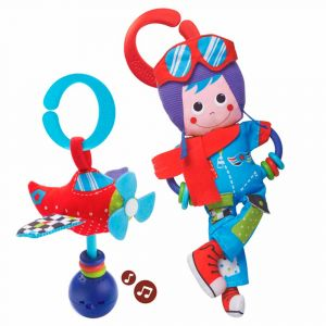 "Игрушка-подвеска ""Пилот"", Yookidoo"
