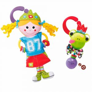 "Игрушка-подвеска ""Принцесса и лягушка"", Yookidoo"