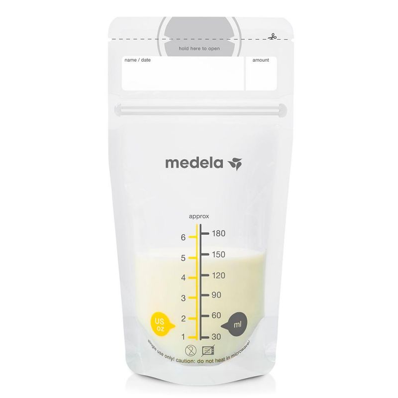 Пакеты для хранения грудного молока, Medela