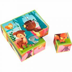 """Кубики """"Лесные животные"""", Janod"""