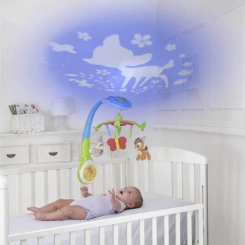 "Мобиль на кроватку с проектором ""Bambi"", Chicco"