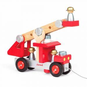 """Игровой набор """"Пожарная машина с инструментами"""", Janod"""