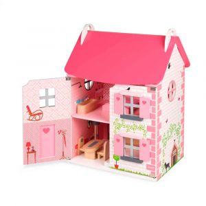 Кукольный домик с мебелью, Janod