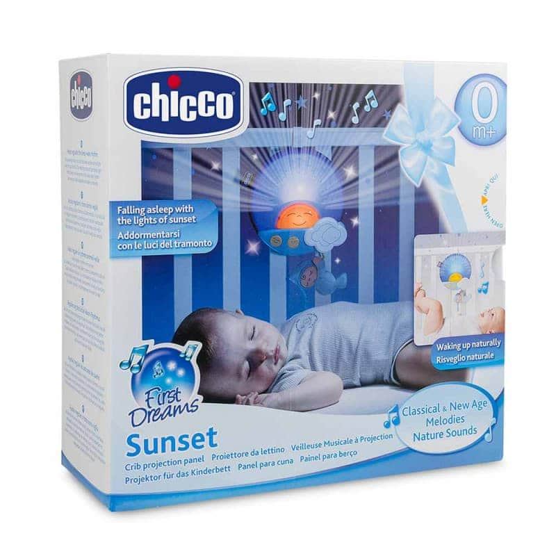 "Панель музыкальная на кроватку ""Sunset"", Chicco"