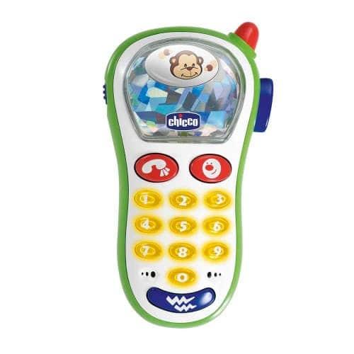 """Игрушка """"Мобильный телефон"""" c картинками, Chicco"""