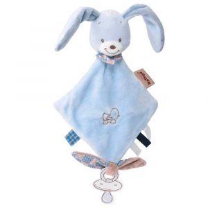 """Мягкая игрушка-держатель """"Кролик Бибу"""", Nattou"""