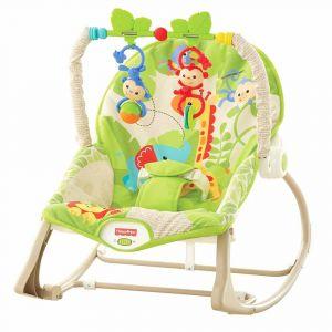 """Массажное кресло-качалка """"Веселые обезьянки"""", Fisher-Price"""
