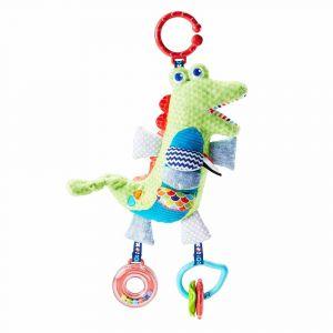 "Мягкая игрушка-подвеска ""Крокодил"", Fisher-Price"