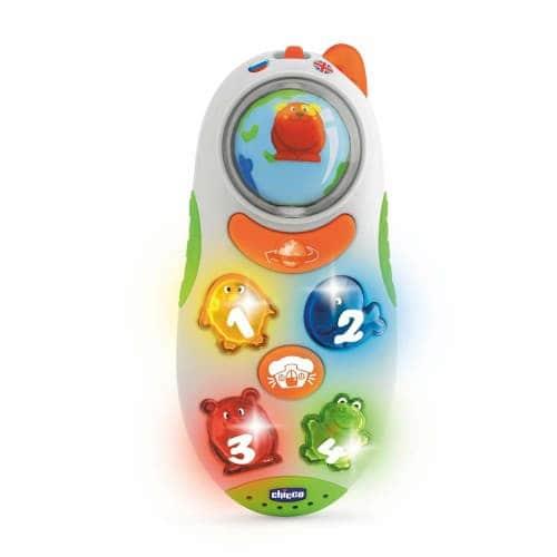 """Игрушка обучающая двуязычная """"Мобильный телефон"""", Chicco"""