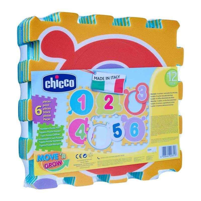 "Коврик-мозаика ""Числа"", Chicco"