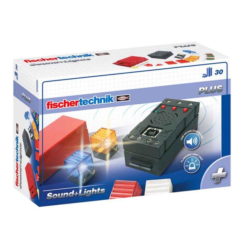 Набор LED подсветки и звуковой контроллер, Fischertechnik