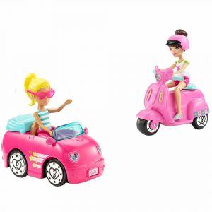 "Набор ""Кукла с транспортом"", Barbie"
