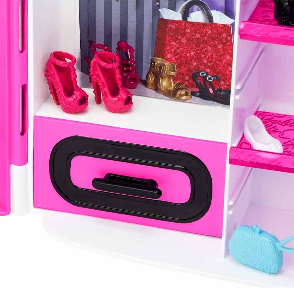 шкаф чемодан для одежды куклы Barbie купить в киеве и украине