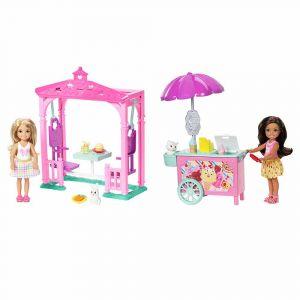 """Набор """"Угощение Челси и зверька"""", Barbie"""
