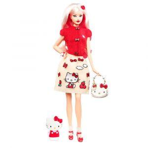 "Кукла коллекционная ""Hello Kitty"", Barbie"