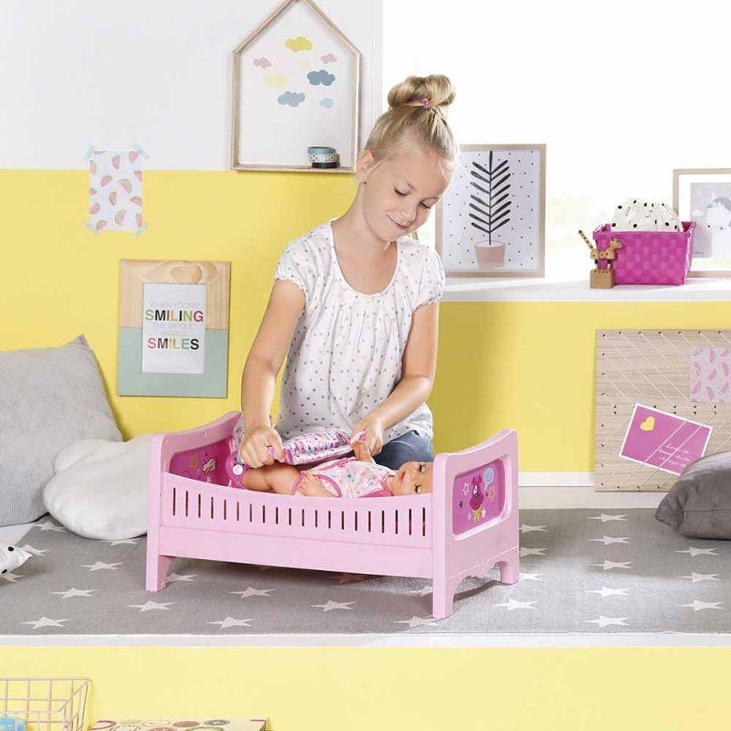 """Интерактивная кроватка для куклы BABY BORN """"РАДУЖНЫЕ СНЫ"""", Zapf"""