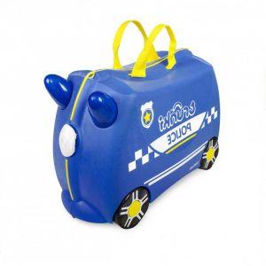 """Детский чемодан """"Percy Police Car"""", Trunki"""