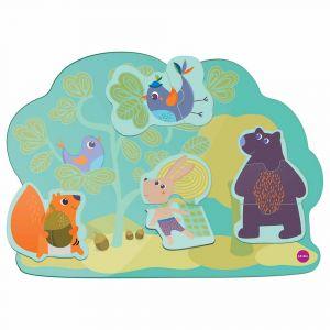 """Настенная игрушка """"Веселый кролик и его друзья"""" Veritiplay, Oribel"""