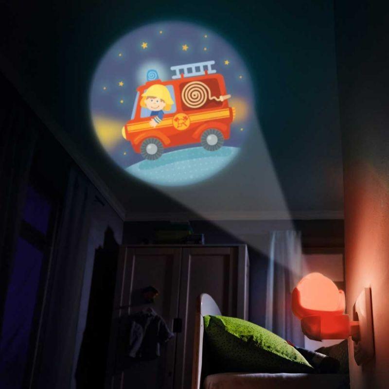 """Ночник-проектор """"Машины и профессии"""", Haba"""