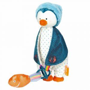 """Игрушка-держатель для соски """"Пингвин"""", Die Spiegelburg"""