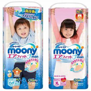 Трусики Moony Big 38 шт. (12-17 кг) для внутреннего рынка Японии