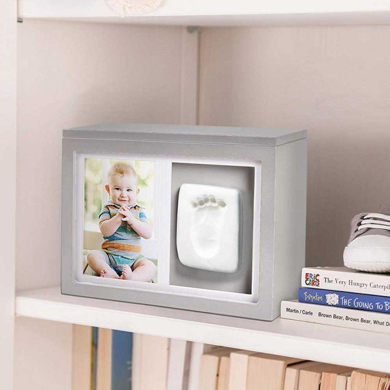 """Шкатулка со слепком и фотографией """"Memory Box"""", Pearhead"""