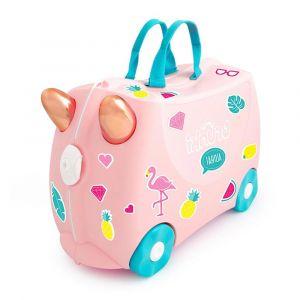 """Детский чемодан """"Flossi Flamingo"""", Trunki"""