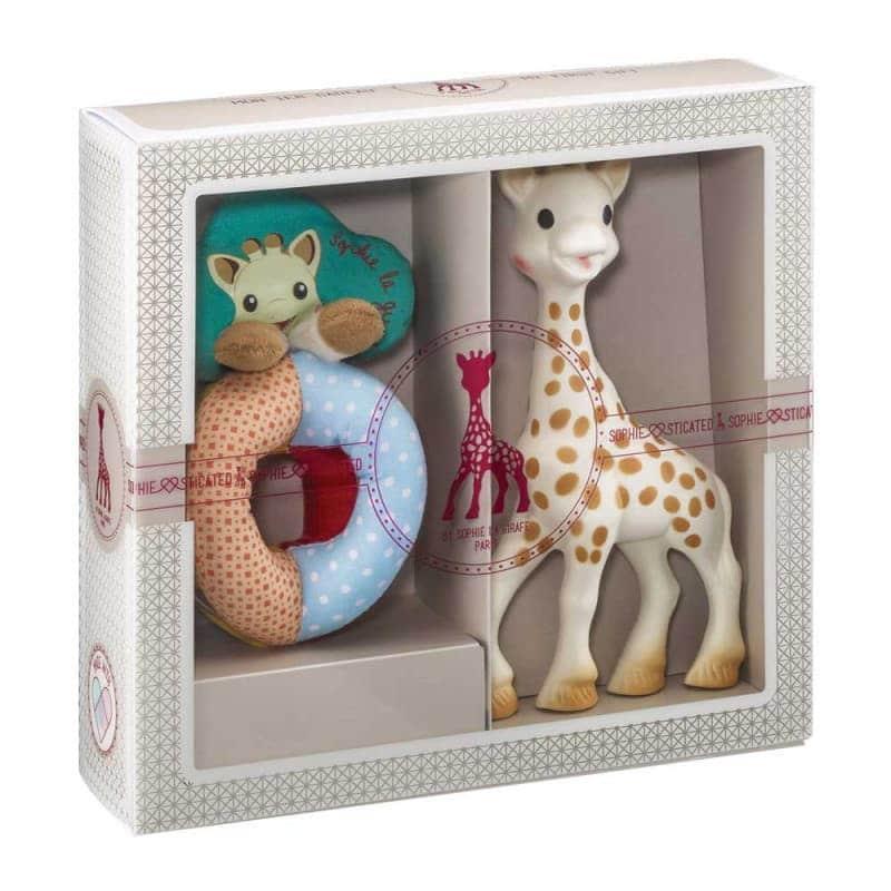 Подарочный набор Sophiesticated (Жираф Софи + погремушка), Sophie la girafe (Vulli)