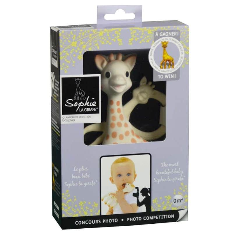 Подарочный набор AWARD (Большая Жирафа Софи + Софи с кольцом), Sophie la girafe (Vulli)