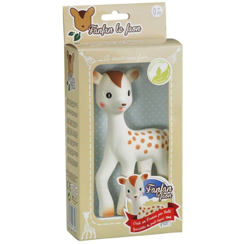 Игрушка-прорезыватель олень Фанфан, Sophie la girafe (Vulli)