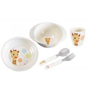 Набор детской посуды Жираф Софи Balloons, Sophie la girafe (Vulli)