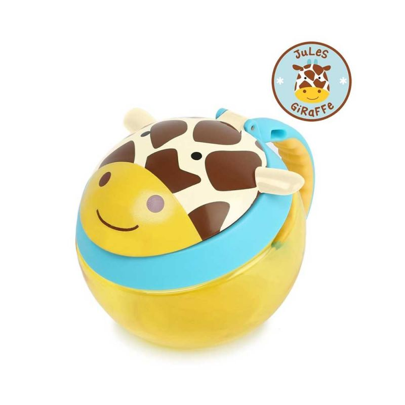 "Контейнер-чашка для снеков ""Жираф"", Skip Hop"