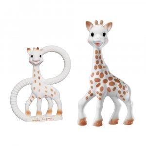 Подарочный набор Sophiesticated (Жираф Софи + прорезыватель), Sophie la girafe (Vulli)