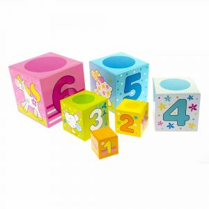 "Кубики ""Учимся считать"", Goki"