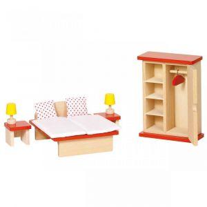 """Кукольный набор """"Мебель для спальни"""", Goki"""