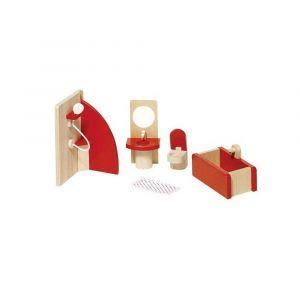 """Кукольный набор """"Мебель для ванной"""", Goki"""
