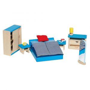"""Кукольный набор """"Мебель для спальной комнаты"""", Goki"""