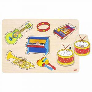 "Музыкальный пазл ""Музыкальные инструменты"", Goki"