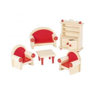 """Кукольный набор """"Мебель для гостинной"""", Goki"""